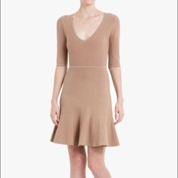 0d90a78106d BCBGMaxAzria Dresses & Skirts - *CYBER MONDAY* BCBG Camel Ribbed Knit Dress  - M